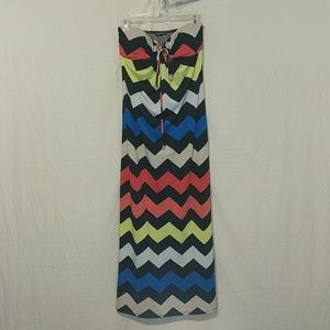 Cute Dress ☀️4/$25!🌵Chevron Maxi Summer S !
